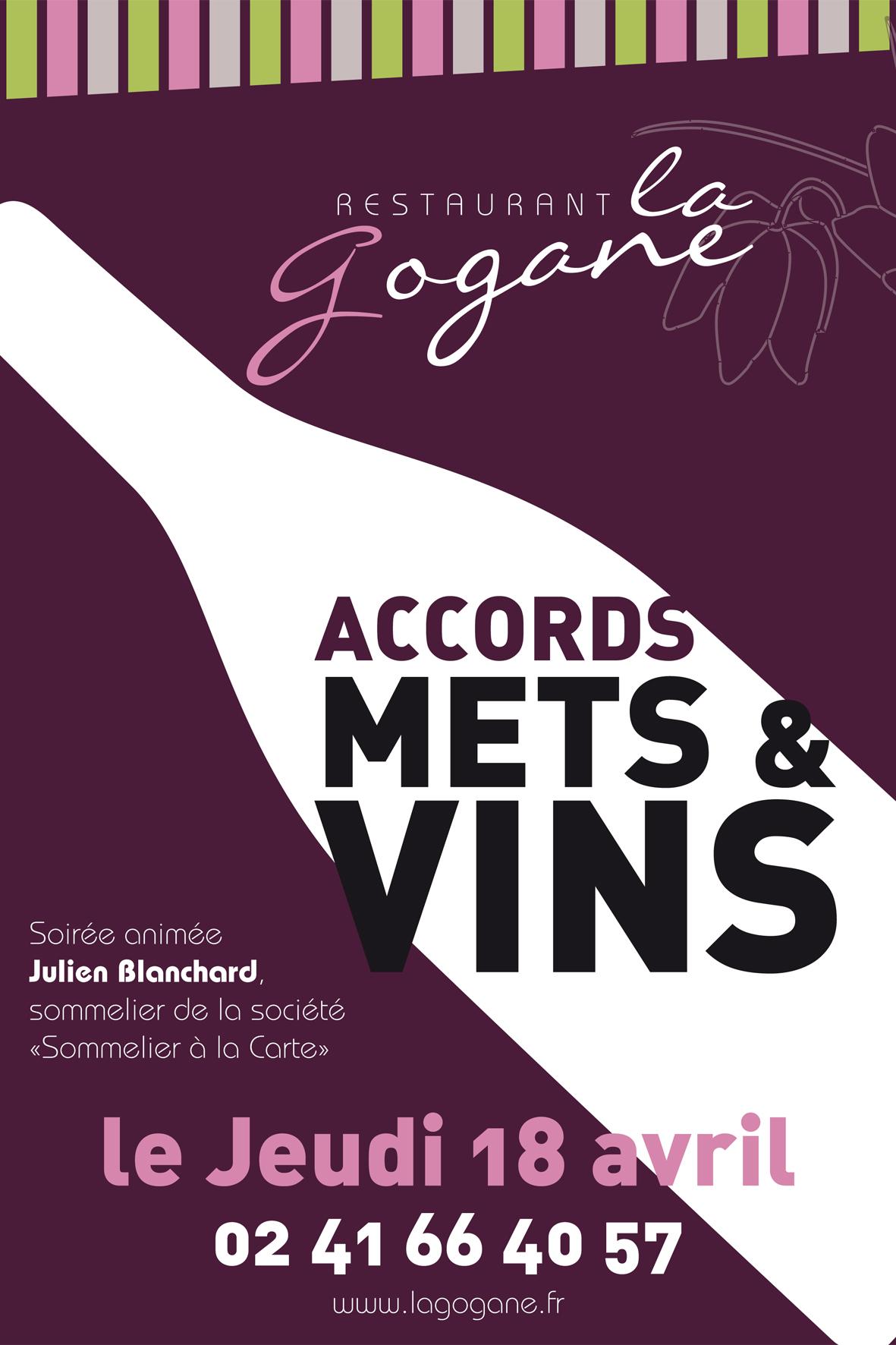 Soirée Accords Mets et Vins